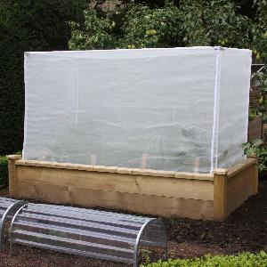 Slot And Lock Cage Kit With Insect Mesh Covers From Raised