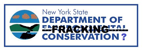 New York Dept. of Fracking