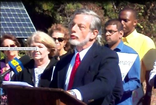 Peter Gollon, Energy Chair of the Long Island Sierra Club, challenged LIPA
