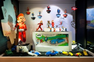 Brussels with Kids: Comic book characters come to life at Moof