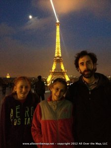 Our first night in Paris