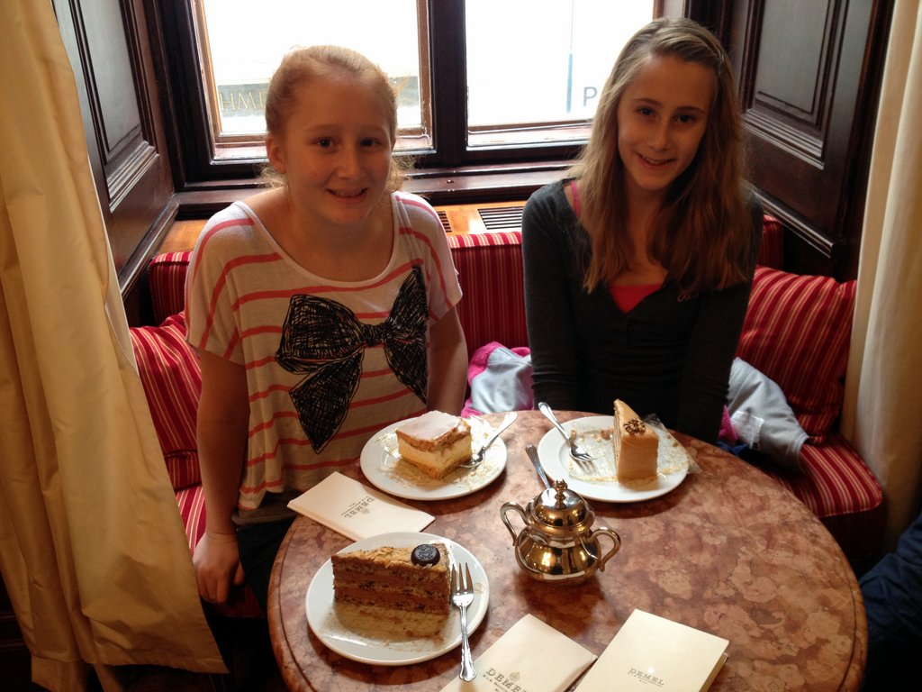 Coffee and Cakes in Vienna