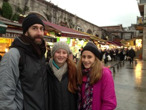 My wonderful family at the Spice Bazaar </a srcset=
