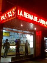At La Reina Junin pasta shop, the vintage machines make fresh pasta daily.