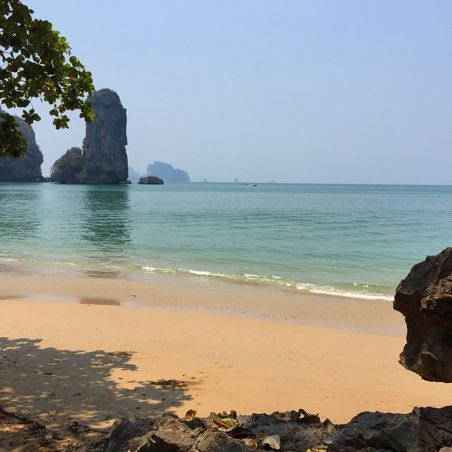 Thai beach near Ao Nang