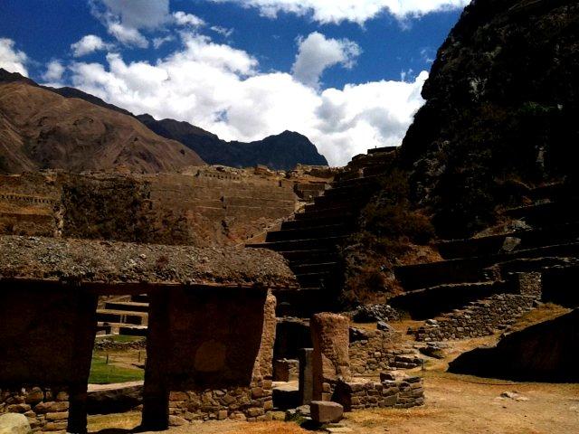 Ruins in Ollantaytambo, Peru