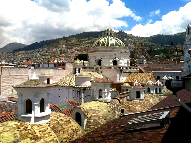 quito church roof