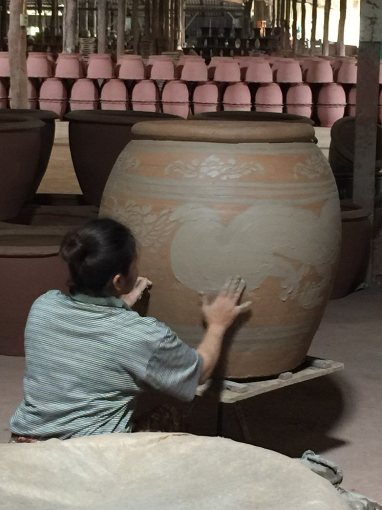 Thai potter