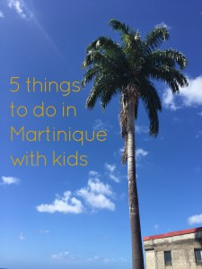 5 Things to do in Martinique with Kids