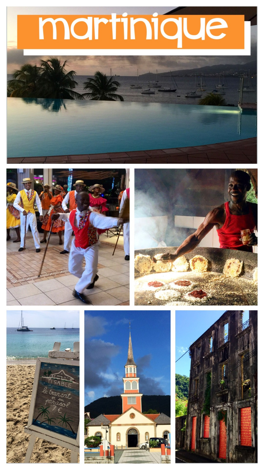 The people and colors of Martinique