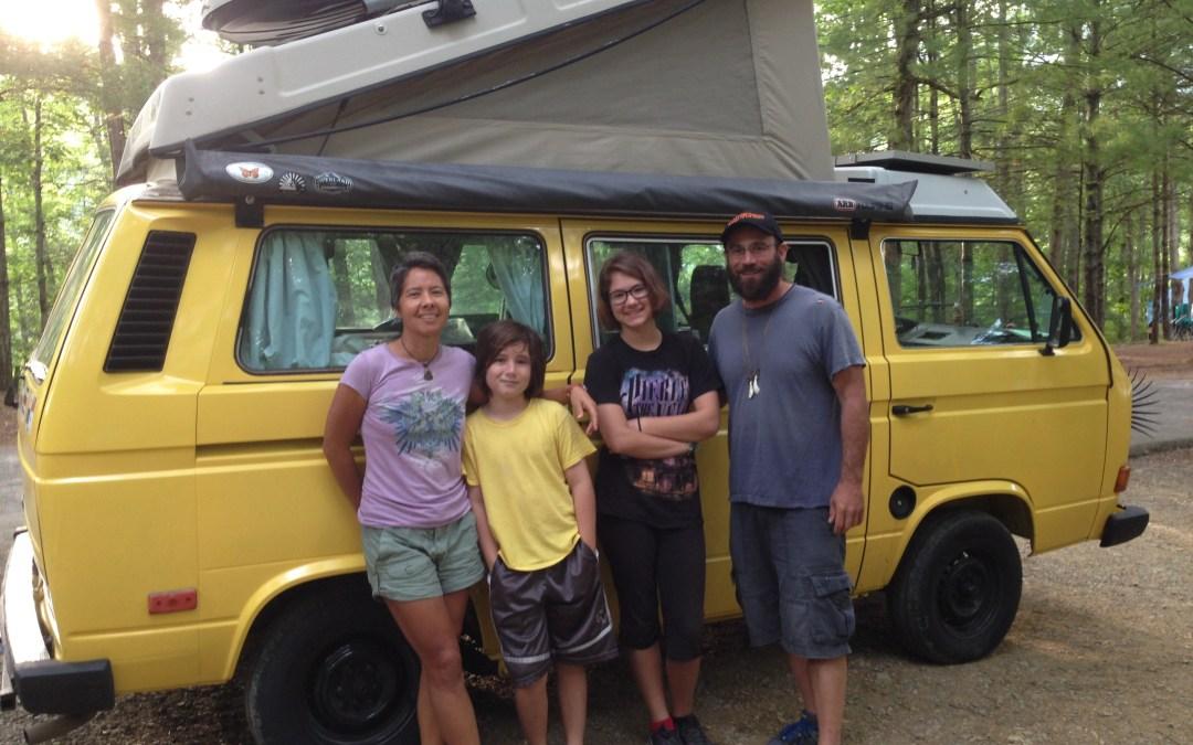 Family Road Trip Through the USA
