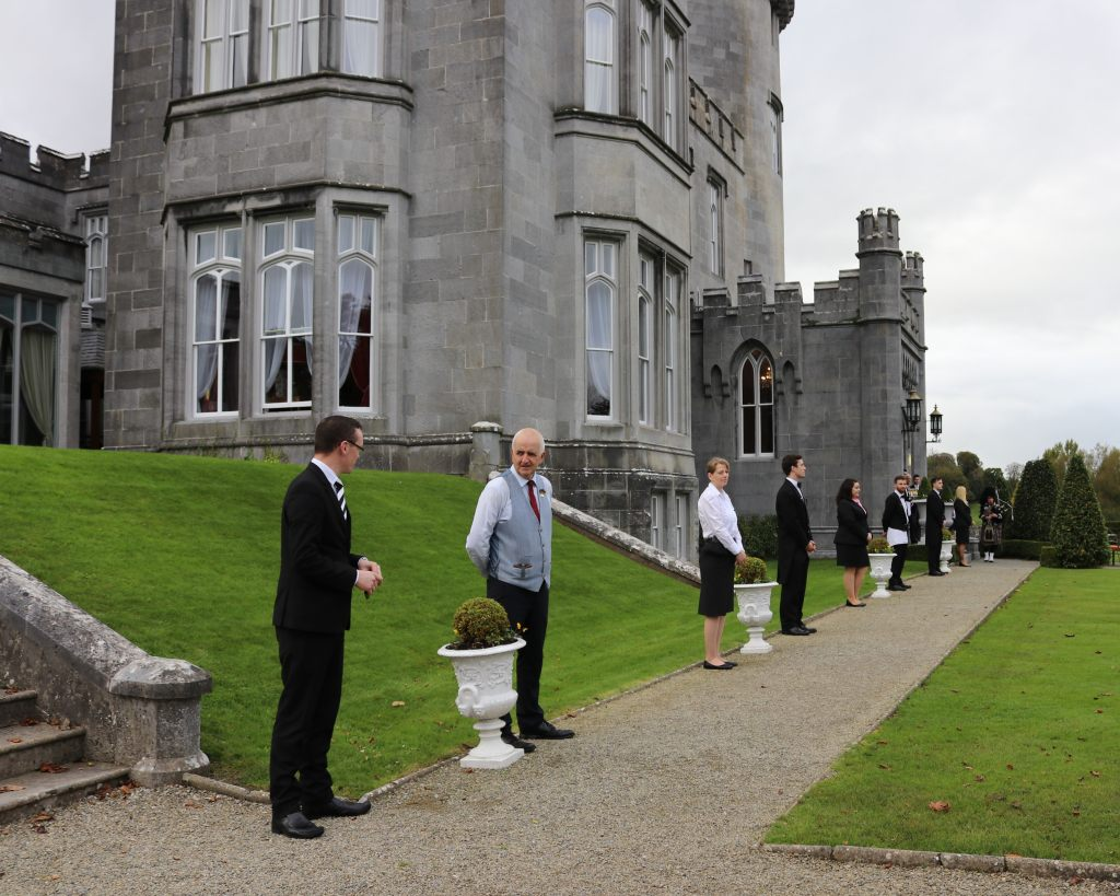 Dromoland Castle Arrival - Castle Hotels in Ireland