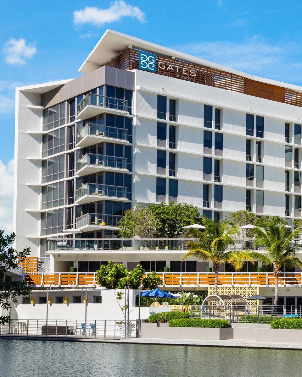 hotel review: gates hotel south beach - all over the map