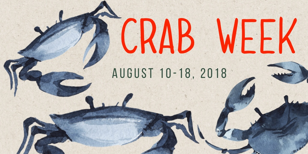 FEELING CRABBY? ESCAPE TO HYATT REGENCY CHESAPEAKE BAY FOR THE 9TH ANNUAL CRAB WEEK, AUGUST 10-18, 2018