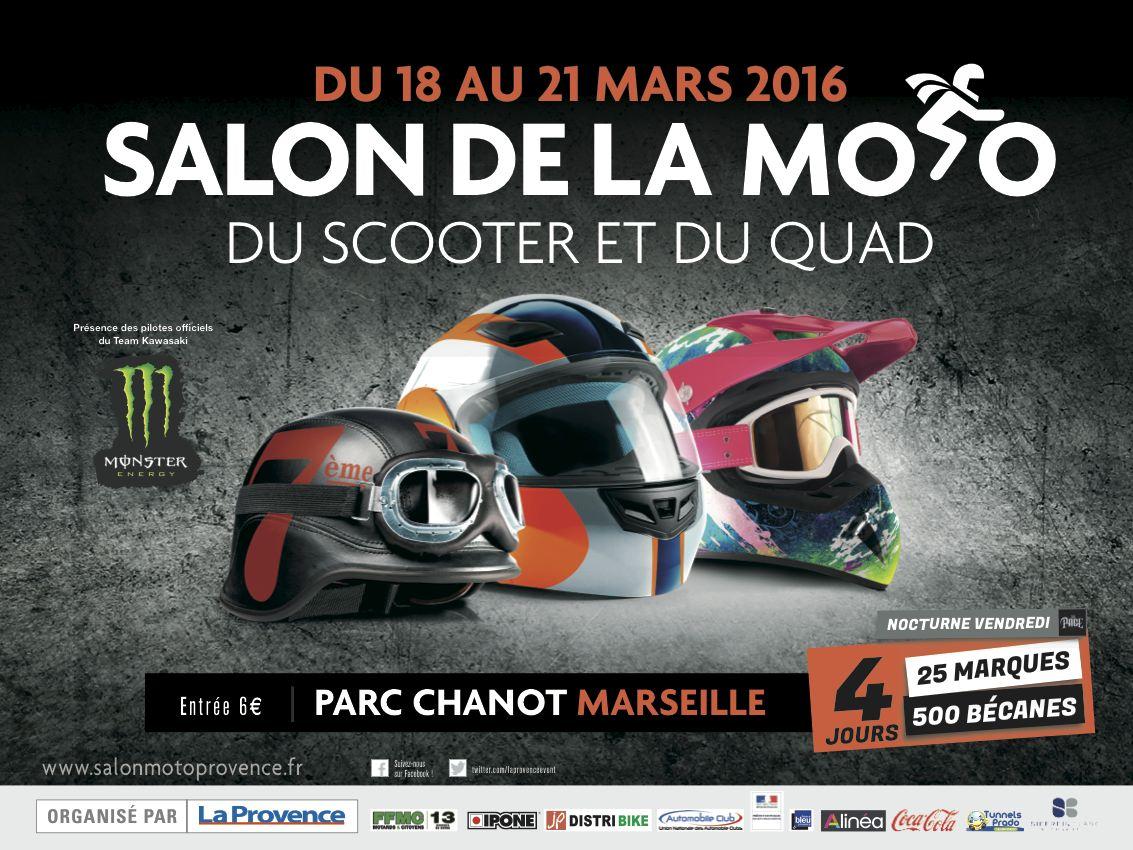 salon Moto et Scooter Marseille 2018