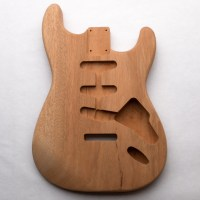 Single Piece Mahogany S-Style Guitar Body
