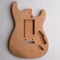 Lightweight 1-Piece Mahogany S-Style Guitar Body with Bathtub Route