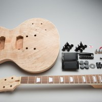 Silver LP-Style Electric Guitar Kit