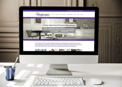 Branding, web design and marketing campaign for property management company