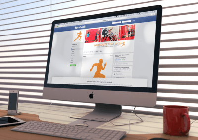 Social Media Page Design for Fitness Instructor