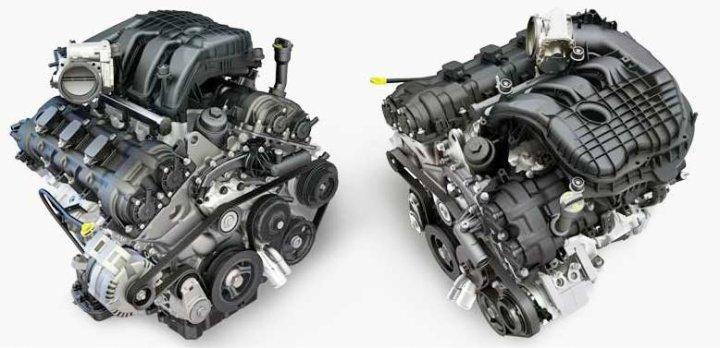 Pentastar V6 engines