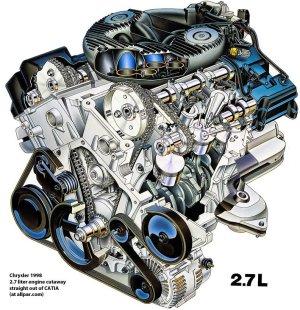 The Chrysler 27 liter V6 engines