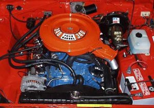 The Mopar 340 V8 high performance engines