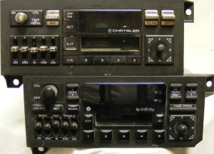 """A Guide to Chrysler (Dodge, Jeep, Plymouth) Stereo """"Head"""