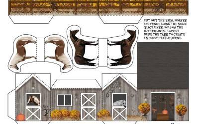 Horsey Halloween & Fall Fun Downloadable Crafts