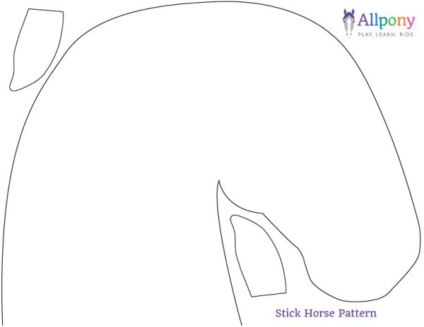 Stick Horse Pattern