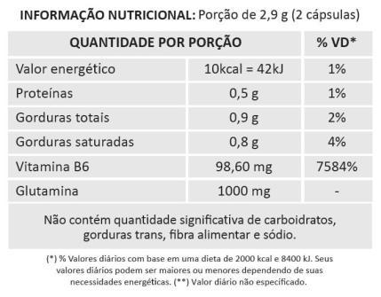 L-Glutamina com óleo de coco