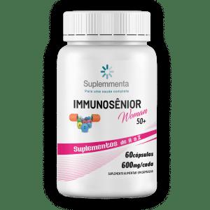 immunosênior woman 50+ suplemmenta