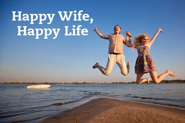 How to Make Your Wife Happy With You