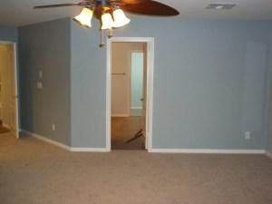 Interior gray paint
