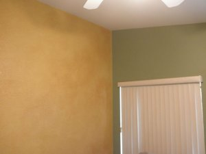 Allpro Painting interior home painting in Las Vegas, Nevada, creates custom faux finishes for homeowners.