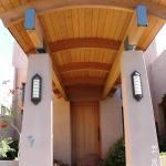 Professional Carpenter Stain and Elastomeric finish