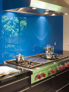 Kitchen glass Painted glass kitchen Splashbacks be hind the gas hob decourative glass in Northern ireland