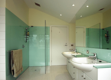 Derry city Custom wet room design and supply and install of Large shower enclosure glass made in northern ireland