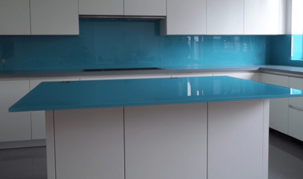 Painted Glass Kitchen Table Tops In Ireland