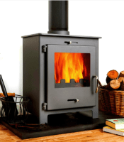 Replacement broken Flat glass for coal and wood burning stoves in Northern Ireland