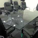 UV Bonding-Glass table top furniture in Derry City northern ireland