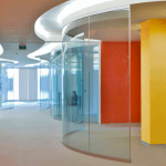 Curved Glass Ireland Curved Glass Partitions and Balustrades glass made to measure curved glass supplied and Installed in Ireland
