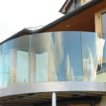 out door Glass ireland architecural glass deisgn supplied and installed frameless curved glass balconey balustrades self build ireland glass online