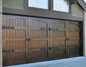 Custom Wood Garage Doors in Salt Lake City