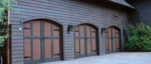 custom wood garage door suplier in Salt Lake City