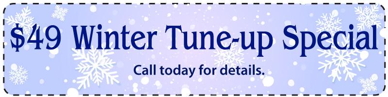 Winter Garage Door Tune-up Special