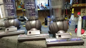 repaired Dyson Animal bagless vacuum cleaners