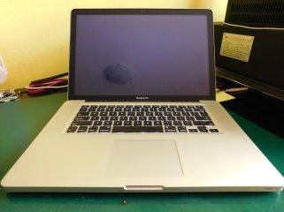 MacBook Pro 15 Schermo Nero