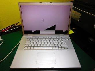 MacBook Pro A1150 Artefatti