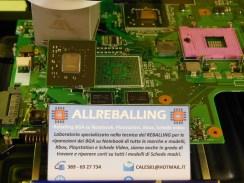 Sony Vaio VGN-AR51E reballing